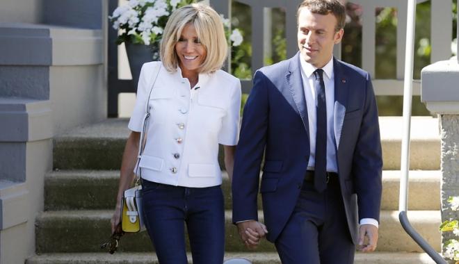 Foto: Președintele Emmanuel Macron, vizită în China
