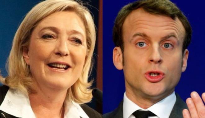 Foto: ALEGERI FRANŢA: Macron şi Le Pen se confruntă în turul doi. Soarta UE, în mâinile francezilor