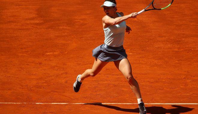 Foto: Tenis / Simona Halep, victorie în primul meci la Mutua Madrid Open 2019