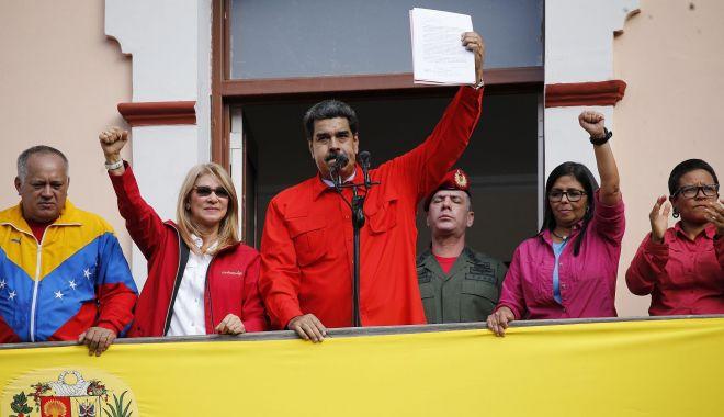 Foto: Maduro cere Mexicului şi Uruguayului să relanseze oferta lor de mediere