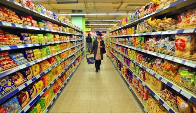 Foto: E oficial! 51 % produse româneşti, pe rafturi.  Hipermarketurile, obligate să comercializeze alimente locale