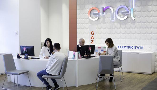 Foto: Magazinele Enel din Constanța, închise joi, 24 ianuarie