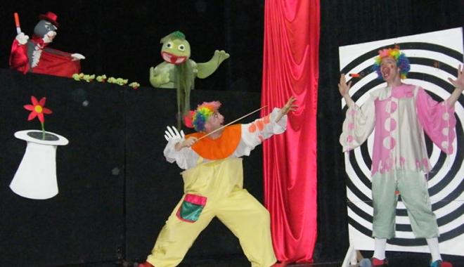 """Foto: """"Magia circului"""",  din nou la teatru"""