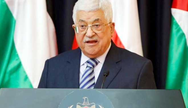 Foto: Mahmoud Abbas îi dă flit vicepreședintelui american Mike Pence