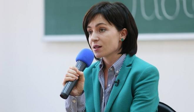 Foto: Maia Sandu contestă rezultatul alegerilor