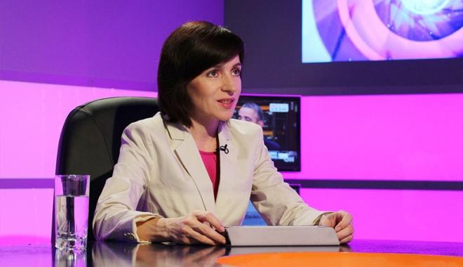 Foto: Maia Sandu lansează  o petiţie pentru anularea alegerilor prezidenţiale din Republica Moldova