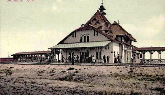 Foto: Povestea Staţiunii Mamaia.  Cum se făcea plajă acum un secol