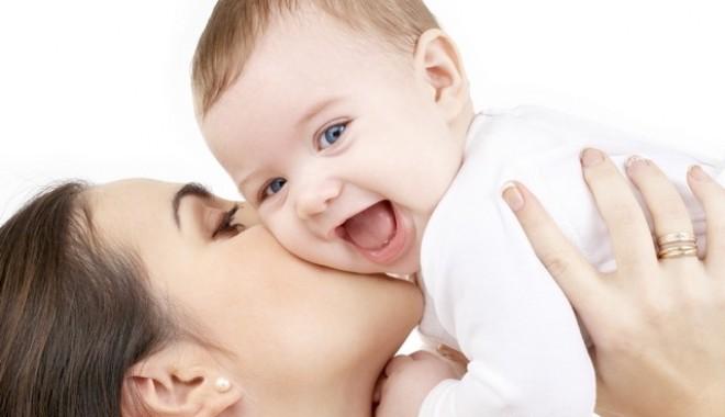 Foto: Compartiment dedicat mamei şi copilului, la Ministerul Sănătăţii