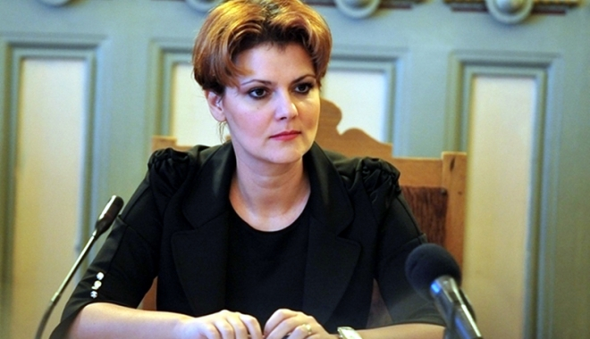 """Foto: Ministrul Olguţa Vasilescu:  """"Femeile cu trei sau mai mulţi copii s-ar putea pensiona mai devreme"""""""
