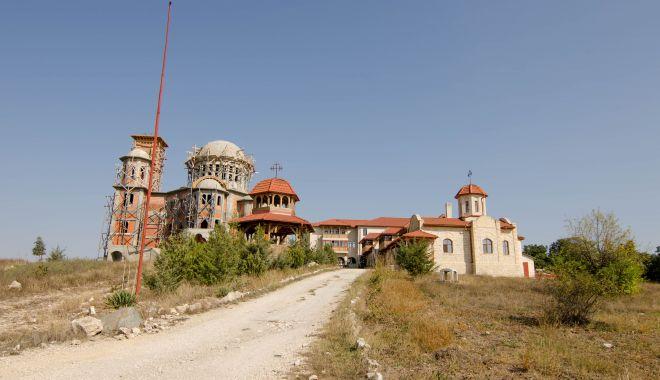 """Foto: Hramul mănăstirii """"Sf. Ioan Casian"""". Lăsatul Secului de carne pentru Postul Mare"""