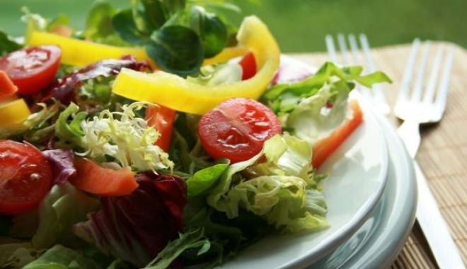 Foto: FOTO / Imaginea care îţi arată cum ar trebui să arate o farfurie cu mâncare sănătoasă