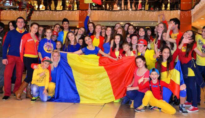 Foto: Un flashmob extraordinar,  organizat de Total Dance Center