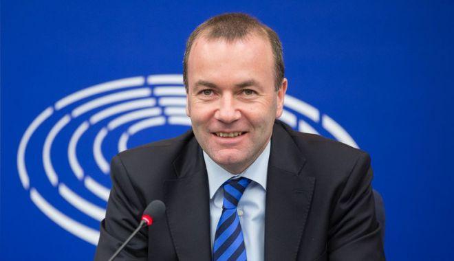 Foto: Manfred Weber vrea  ca UE să ia deciziile  cu majoritate de voturi