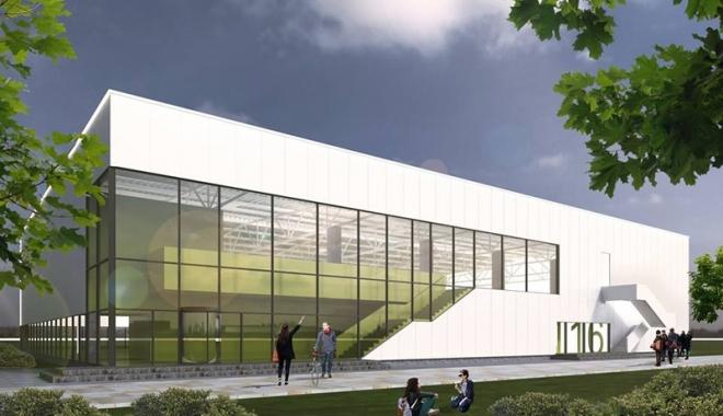 Foto: Primăria Mangalia începe lucrările pentru o nouă sală de sport