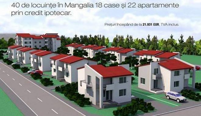 Foto: Proiectul locuinţelor ANL, în atenţia administraţiei din Mangalia