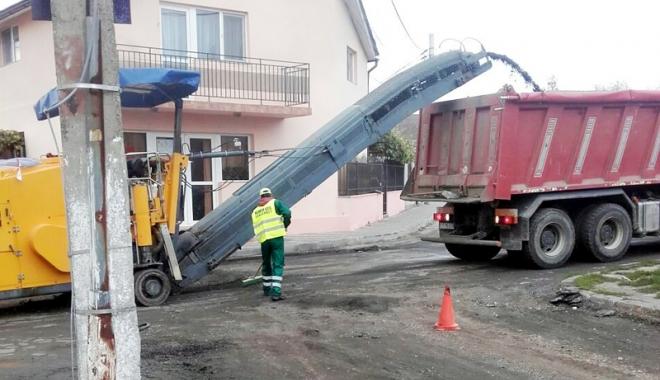 Foto: Primăria Mangalia a demarat programul de asfaltare  a mai multor străzi