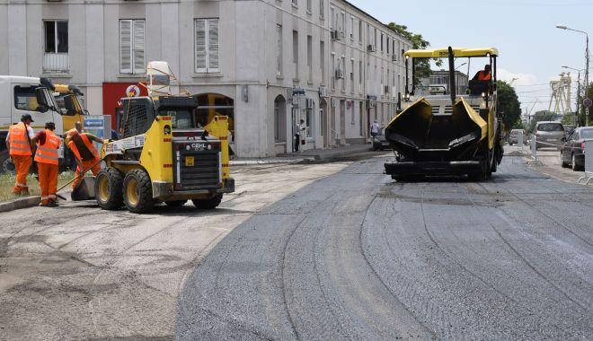 Foto: Șapte milioane de euro, bani de la UE, pentru reabilitarea străzilor din Mangalia