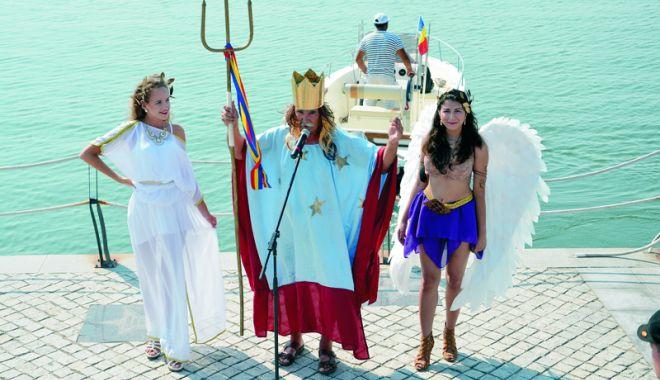 Foto: Zeul Neptun va deschide jocurile marinărești și la Mangalia