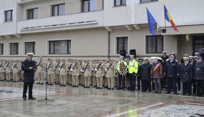 Foto: Ceremonial militar şi religios  de Ziua Naţională  a României,  la Mangalia