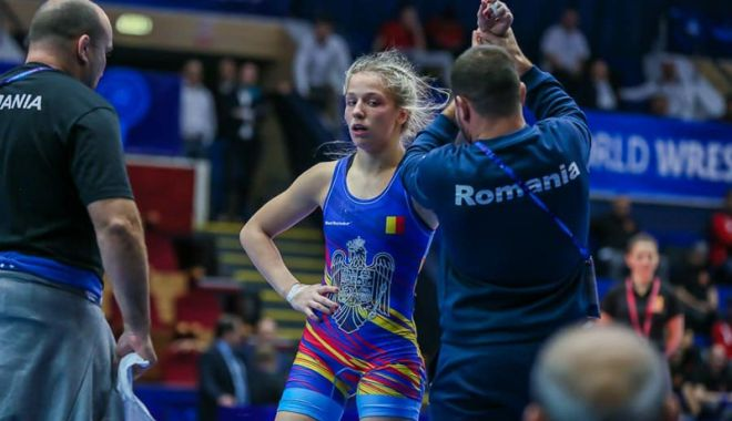 Foto: Andreea Ana, calificată în semifinalele Mondialelor de lupte U23