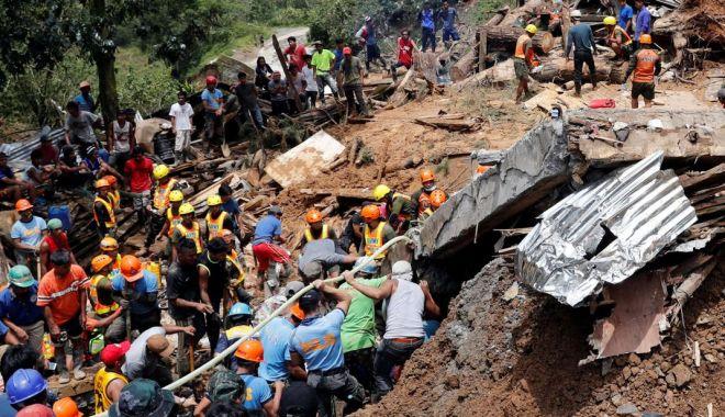Foto: Bilanțul taifunului Mangkhut a crescut la 81 de morți în Filipine