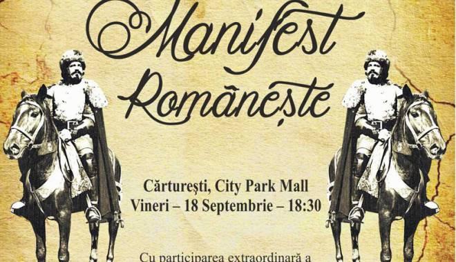 """Foto: """"Manifest româneşte"""", cu Ştefan Paraschiv"""