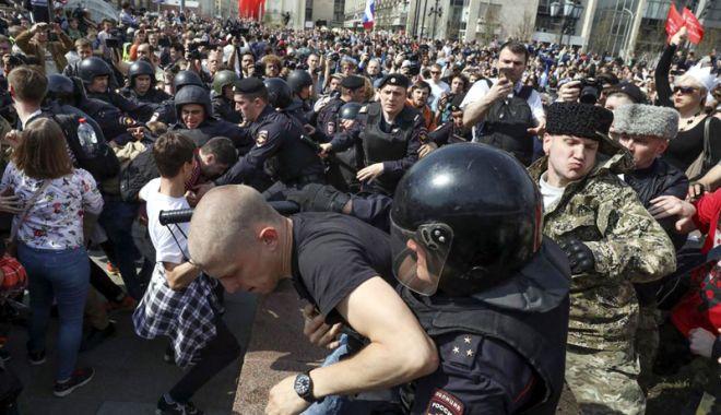 Foto: Manifestaţii anti-Putin.