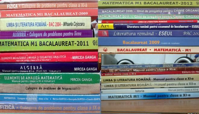 Foto: Numai la noi se poate! Manuale şcolare cumpărate şi apoi decontate