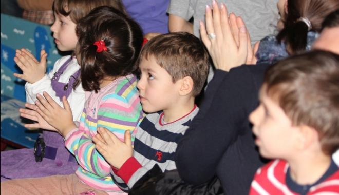 Foto: Premieră la Teatrul de Copii Constanţa. Iată cu ce se pot delecta cei mici