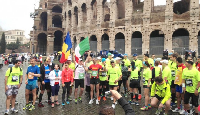 Foto: Trei constănţeni au terminat Maratonul de la Roma