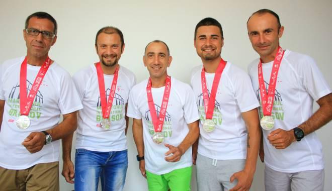 Foto: Echipa SanaSport, pe primul loc la proba maraton ştafetă