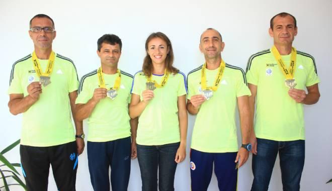 Foto: Maratonul Internaţional Bucureşti, plin de surprize pentru atleţii de la Sanasport