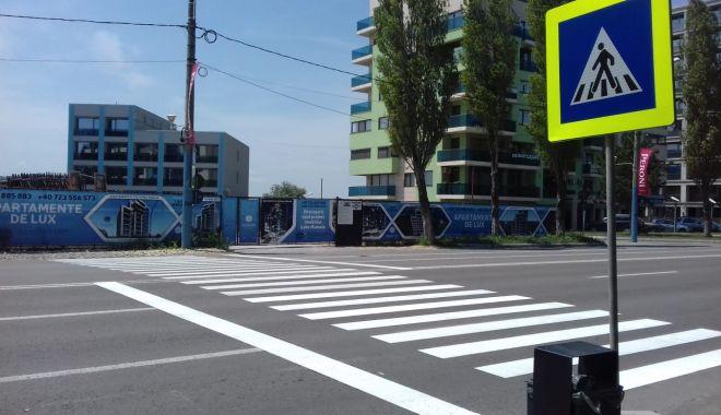 Marcaje rutiere noi, trasate în Constanţa şi Mamaia - marcajerutiere1-1560278381.jpg