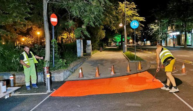 GALERIE FOTO. TRECERI DE PIETONI refăcute, în municipiul Constanța - marcajerutiere3-1625118897.jpg