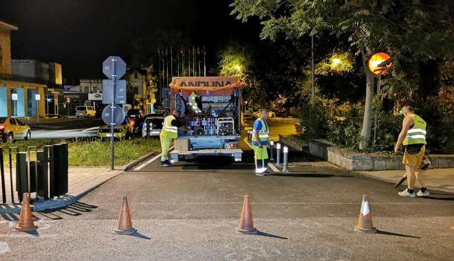 GALERIE FOTO. TRECERI DE PIETONI refăcute, în municipiul Constanța - marcajerutiere5-1625118924.jpg