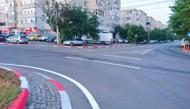 Foto: Marcaje rutiere și noi treceri de pietoni, la Constanța