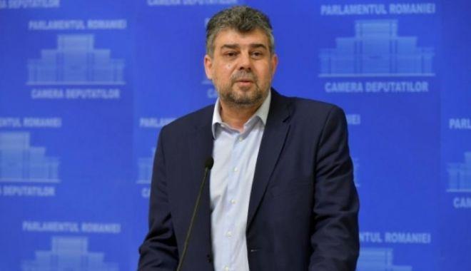 Foto: Marcel Ciolacu, discurs la Congresul PSD: