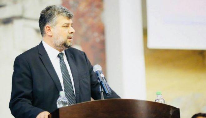 Foto: Marcel Ciolacu, noul președinte al Camerei Deputaților, în locul lui Liviu Dragnea