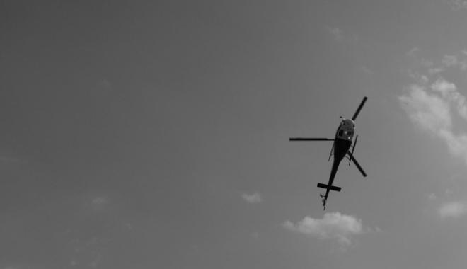 Foto: TRAGEDIE AVIATICĂ. Un elicopter al poliţiei s-a prăbuşit. 12 persoane se aflau la bord