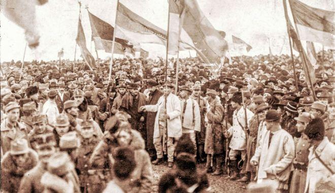 Foto: Marea Unire, reprezentată în cadrul unui concert, la Constanţa