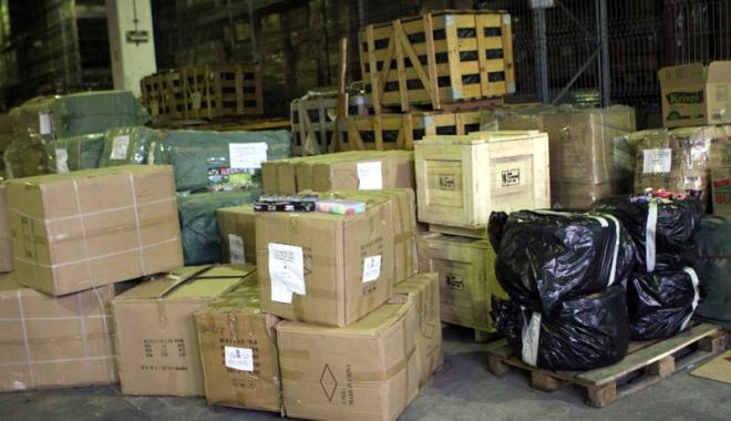 Foto: Marfă în valoare de peste 100.000 lei, confiscată în Portul Constanţa