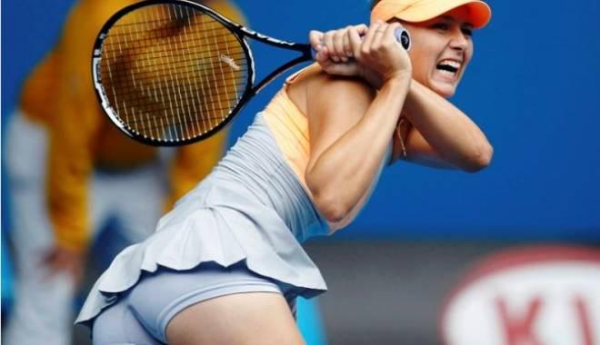 Foto: Tenis / Maria Șarapova s-a calificat în optimile de finală la Madrid