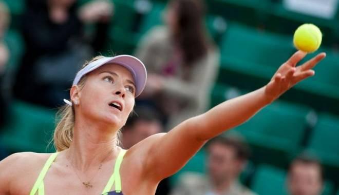 Foto: Tenis / Maria Șarapova, în sferturi la Roma