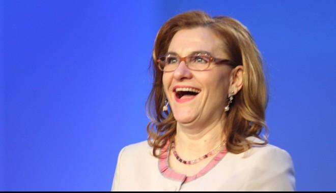Foto: Ministrul Maria Grapini spune că nu s-a pus problema remanierii sale