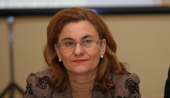 Foto: Ministrul Maria Grapini propune vânzarea participaţiunilor pe care le deţine statul la societăţile din turism