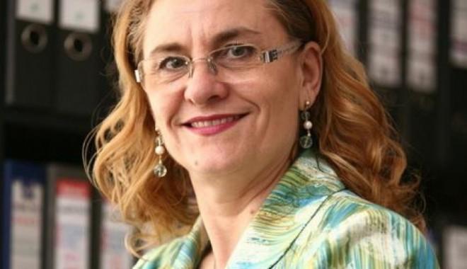 Foto: Ministrul Maria Grapini vine la Constanţa să dezbată problemele IMM-urilor