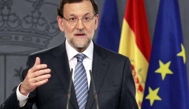 Foto: Premierul spaniol Mariano Rajoy asigură că nu va demisiona