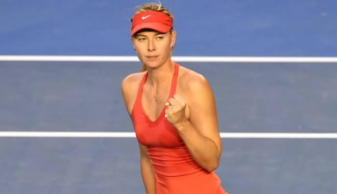 Foto: Tenis: Maria Şarapova, calificată în semifinalele turneului de la Acapulco