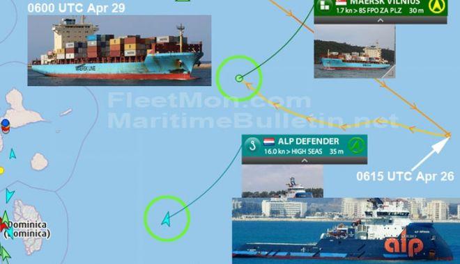Incendiu la bordul unui port-container! Unde s-a petrecut incidentul și ce s-a întâmplat cu echipajul - marinari1-1588247775.jpg