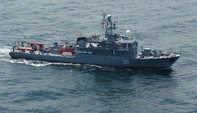 Foto: Marinarii militari români, într-un nou exerciţiu multinaţional, în Marea Mediterană
